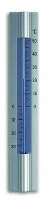 TFA Aluminium Blue analoge thermometer