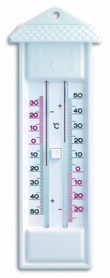 TFA Maxima Minima White analoge thermometer