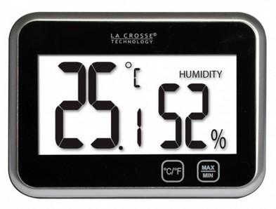 La Crosse WT133 zwart thermometer
