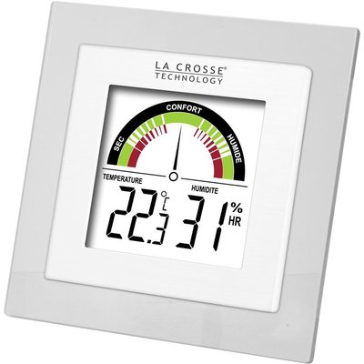 La Crosse WT137 wit thermometer