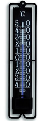 TFA Trend Black analoge thermometer