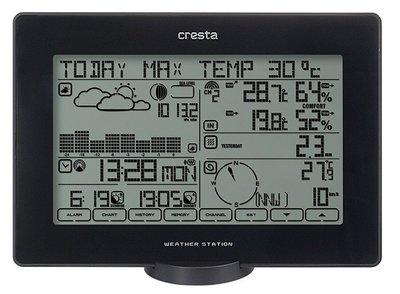 Cresta BAR 918 zwart weerstation
