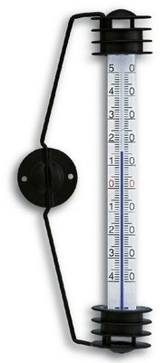 TFA Milo Black analoge thermometer