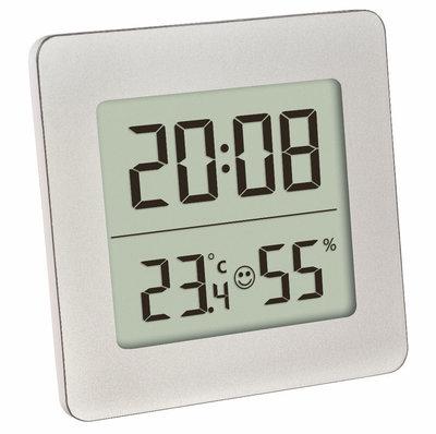 TFA Kjeld silver thermometer