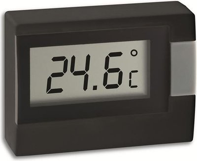 TFA Digi black thermometer