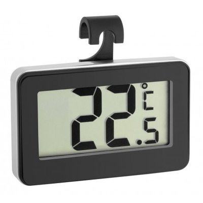 TFA Digilux black thermometer