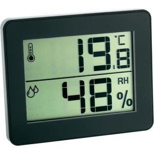 TFA Qboy black thermometer