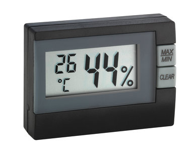 TFA Xaomi black thermometer