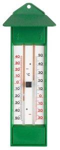 TFA Maxima Minima Green analoge thermometer