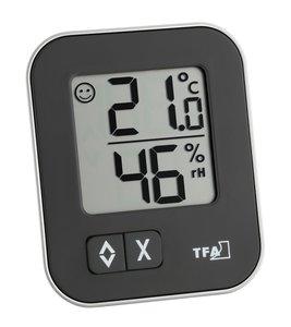 TFA Moxx black thermometer