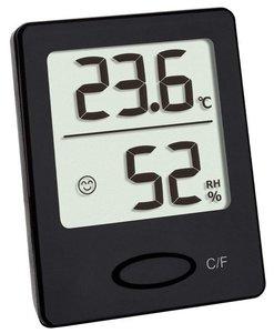 TFA Smile zwart thermometer