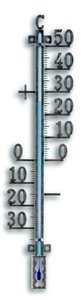 TFA Metal Copper analoge thermometer